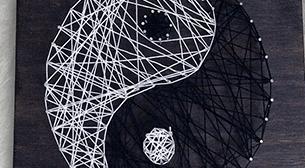 Masterpiece Galata String Art - Yin Yang Etkinlik Afişi