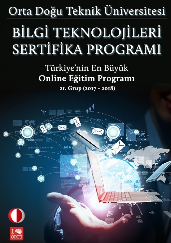 Orta Doğu Teknik Üniversitesi - Bilgi Teknolojileri Sertifika Programı / Uzaktan Eğitim Etkinlik Afişi
