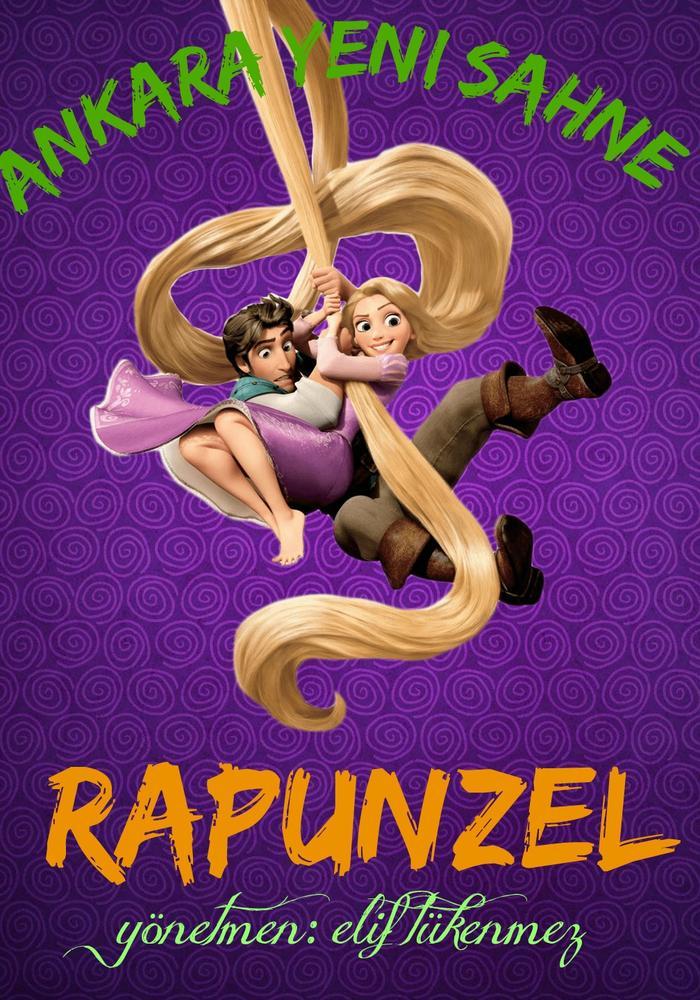 Rapunzel Etkinlik Afişi