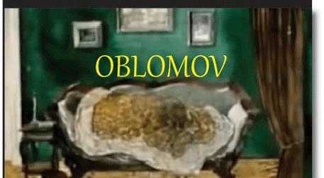 Oblomov Etkinlik Afişi