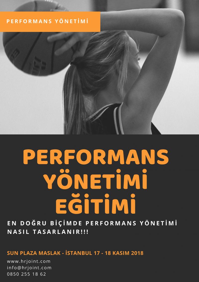 Performans Yönetimi Eğitimi Etkinlik Afişi