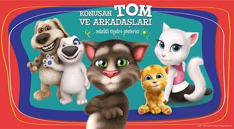 Talking Tom ve Arkadaşları Etkinlik Afişi