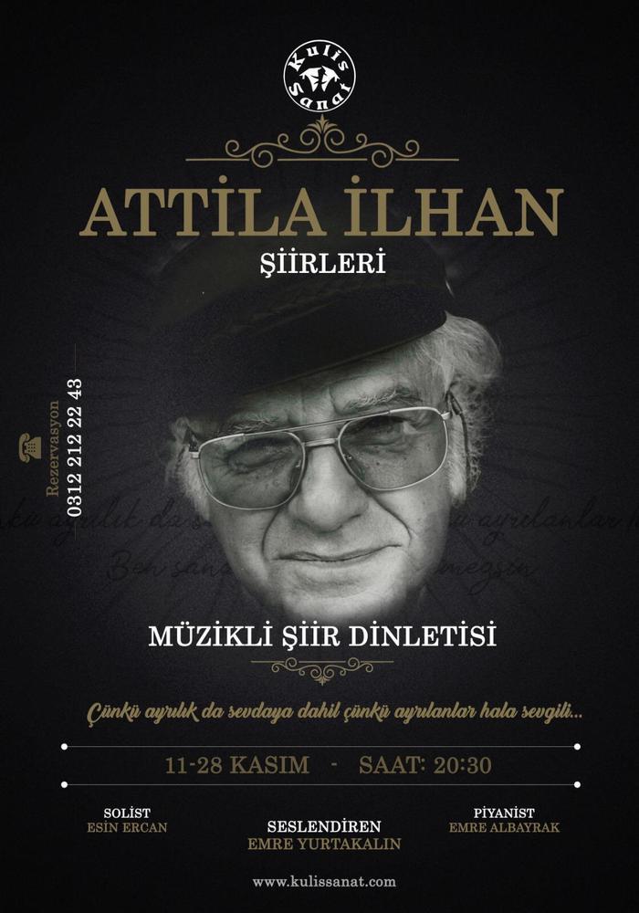 Atilla Ilhan şiir Dinletisi