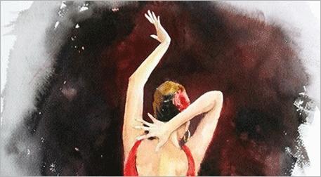 Masterpiece Bostancı Resim - Flamenko Etkinlik Afişi