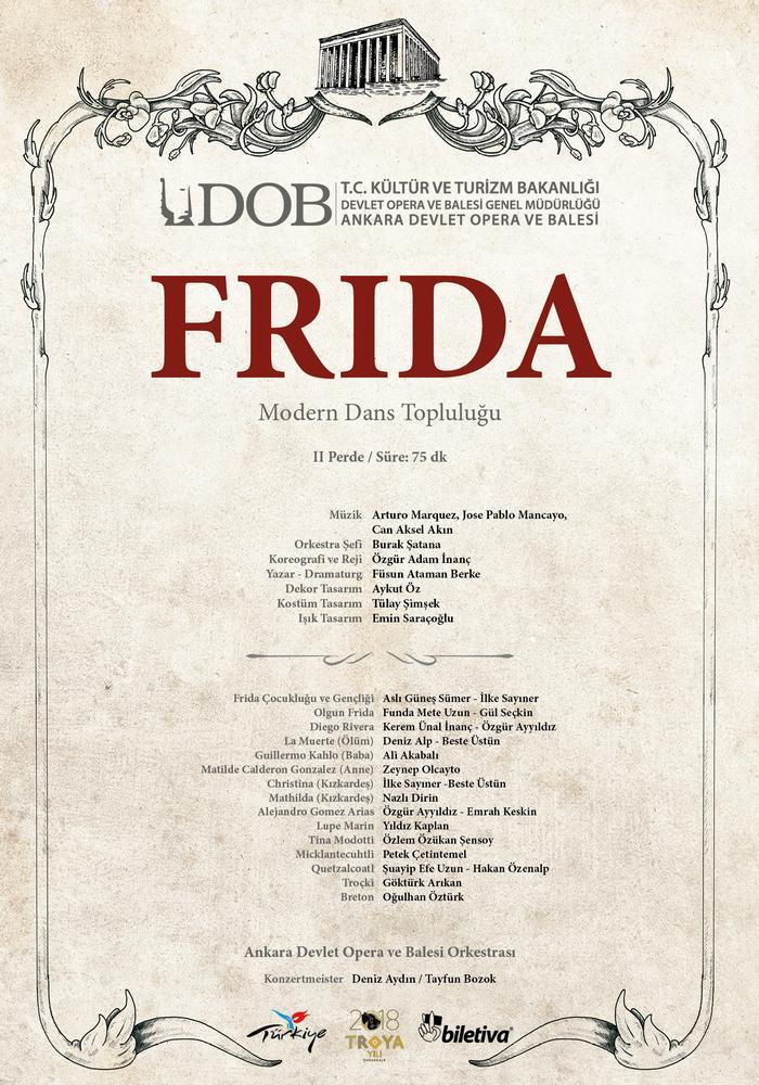 MDT Frida Etkinlik Afişi