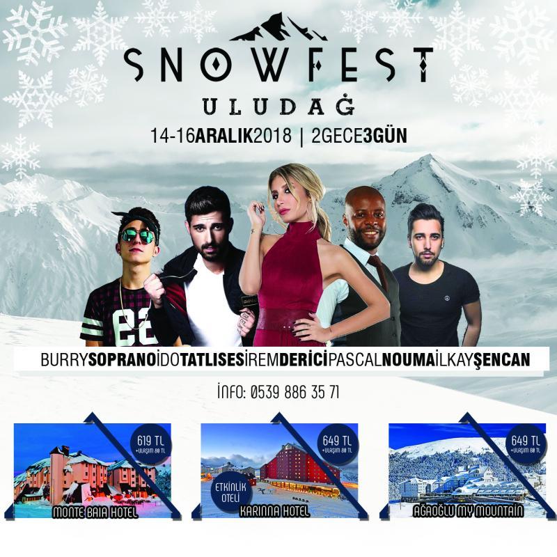 SNOWFEST ULUDAĞ 2018 Etkinlik Afişi