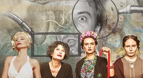 Dali'nin Kadınları Etkinlik Afişi