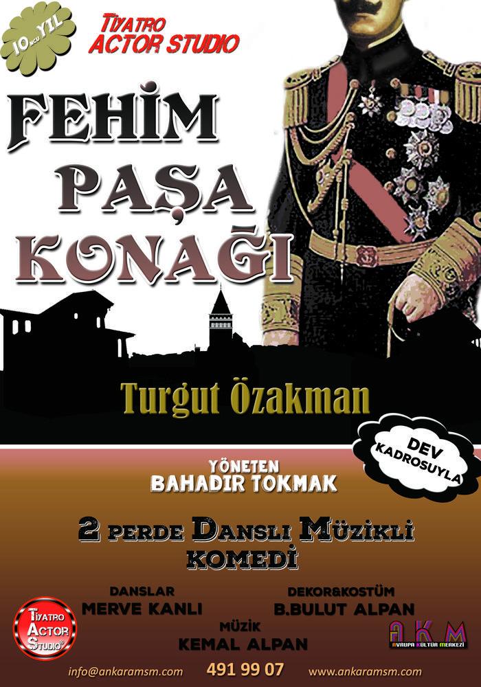 Fehim Paşa Konağı Etkinlik Afişi