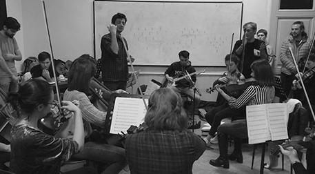 İsimsiz Orkestra Etkinlik Afişi