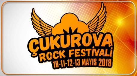 Çukurova Rock Festivali - Kamp+Kombine Etkinlik Afişi