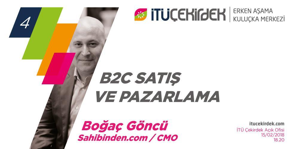 Girişimin 7 Büyük Semineri - #4 B2C Satış- Pazarlama Etkinlik Afişi