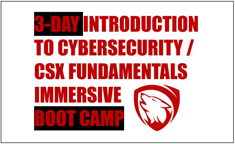 (Istanbul) CSI100: Introduction to Cybersecurity / CSX Fundamentals Training Course Etkinlik Afişi