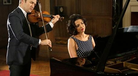 Katia Buniatishvili &Renaud Capucon Etkinlik Afişi