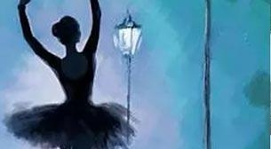 Masterpiece Galata Resim - Karanlıkta Dans Etkinlik Afişi