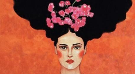 Masterpiece İzmir Resim - Afro Lady Etkinlik Afişi