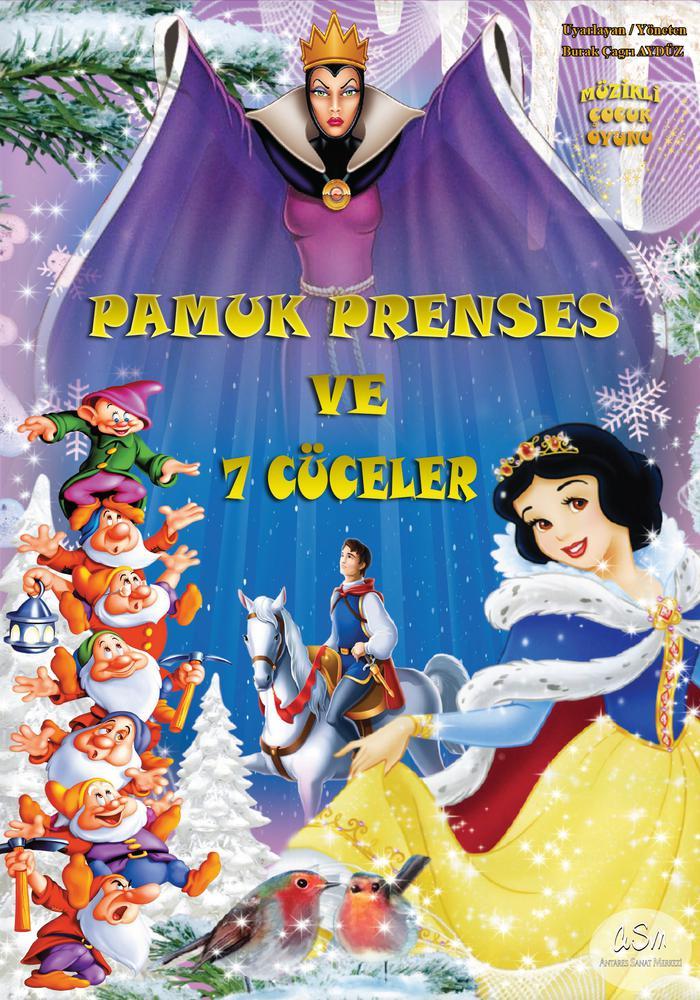 Pamuk Prenses ve Yedi Cüceler Etkinlik Afişi