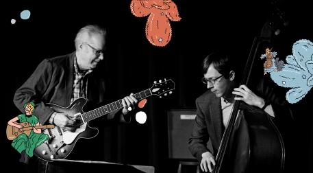 "Zorlu PSM Caz Festivali: Bill Frisell & Thomas Morgan ""Small Town Duo"" Etkinlik Afişi"