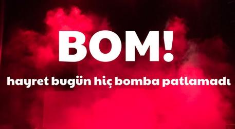 BOM! Etkinlik Afişi