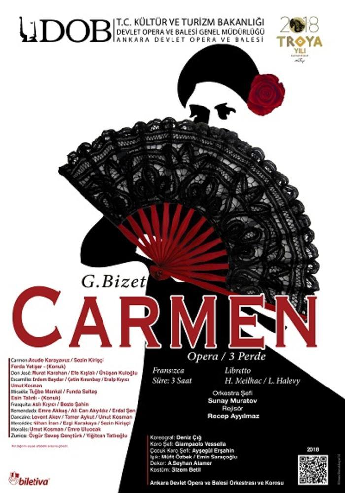 Carmen Etkinlik Afişi