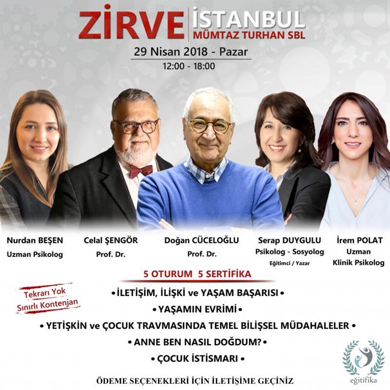 Doğan Cüceloğlu ile Zirve İstanbul Etkinlik Afişi