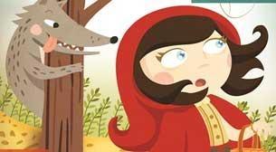 Kırmızı Başlıklı Kız Etkinlik Afişi