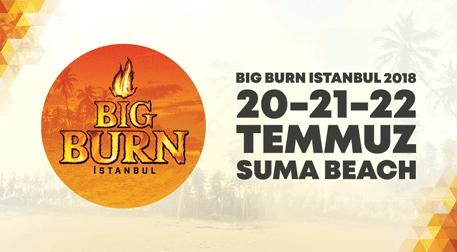 Big Burn Istanbul - Kombine Etkinlik Afişi