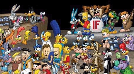Cartoon Night     Etkinlik Afişi