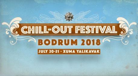 Chill-Out Festival Bodrum 2018 - Cuma Etkinlik Afişi