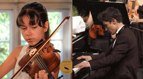 Genç Yetenekler Konserleri, Pınar İklimli & Faruk Kalaycı Viyola ve Piyano Resitali Etkinlik Afişi