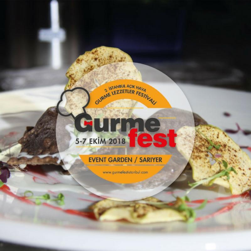 GurmeFest İstanbul Etkinlik Afişi