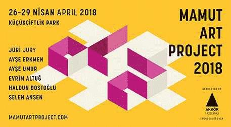 Mamut Art Project 2018 Etkinlik Afişi