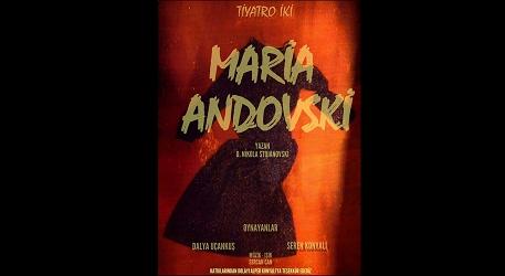 Maria Andovski Etkinlik Afişi