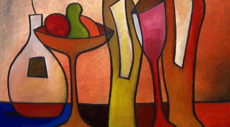 Masterpiece Galata Resim - Romantik Masa Etkinlik Afişi