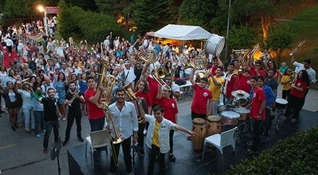 Barış için Müzik Orkestrası Etkinlik Afişi