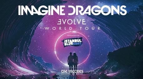 İstanbul Blue Night Presents: Imagine Dragons Etkinlik Afişi