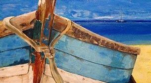 Masterpiece Ankara Resim - Sahilde Tekne Etkinlik Afişi