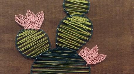 Masterpiece Ankara String Art - Kaktüs Etkinlik Afişi