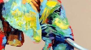 Masterpiece Galata Resim - Fil Etkinlik Afişi