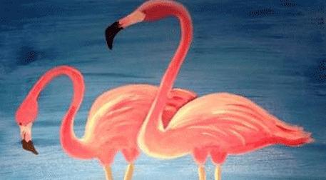 Masterpiece Galata Resim - Flamingo Etkinlik Afişi