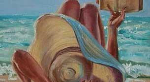 Masterpiece Galata Resim - Uzanmışım Kumsala Etkinlik Afişi