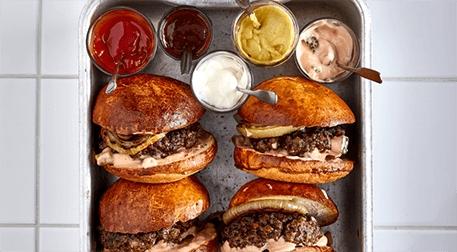 MSA-Burgers&Fries Etkinlik Afişi