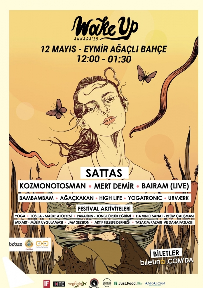 Wake Up Ankara / Eymir Etkinlik Afişi