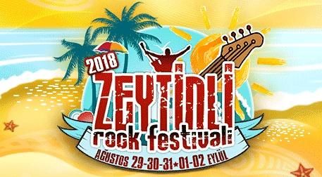 Zeytinli Rock Festivali - Kombine Etkinlik Afişi