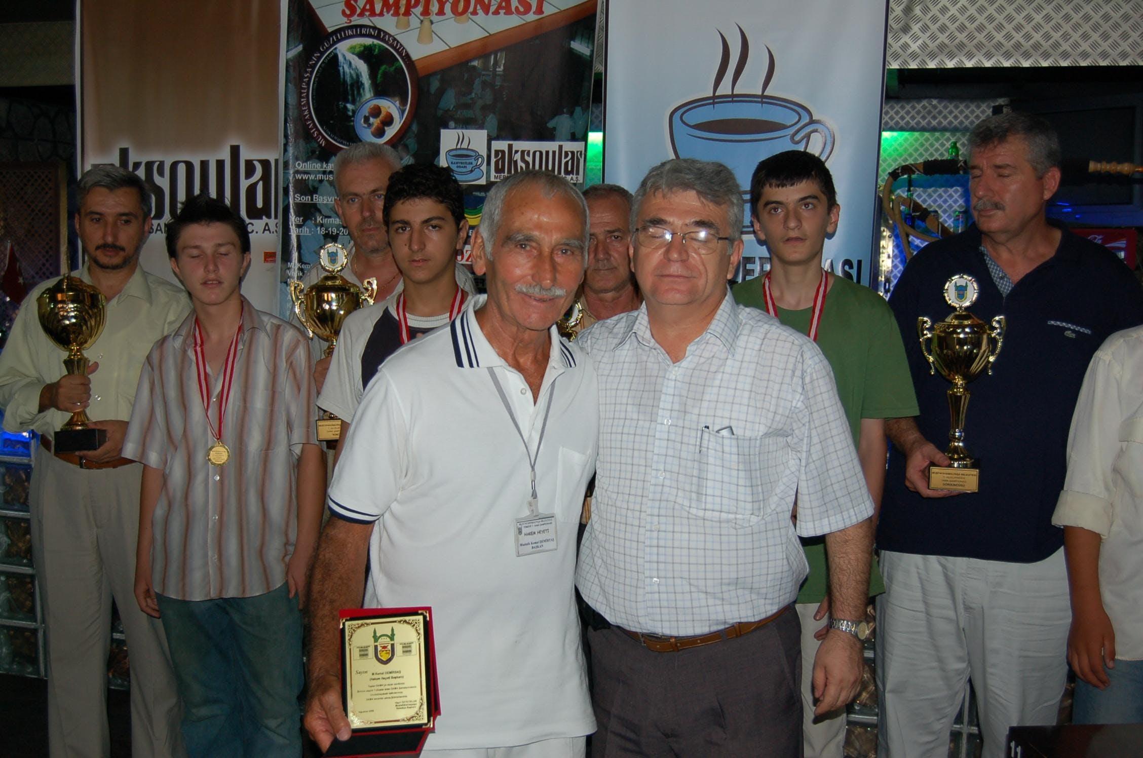19. Uluslararası Türk Daması Şampiyonası - 19th International Turkish Draughts Championship Etkinlik Afişi