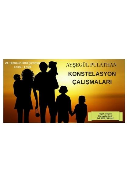 AYŞEGÜL PULATHAN ile KONSTELASYON ÇALIŞMALARI Etkinlik Afişi
