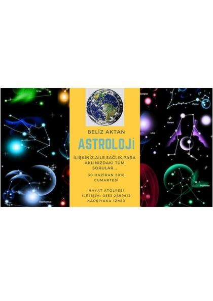 Beliz Aktan ile Astroloji Etkinlik Afişi