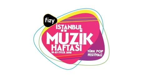 fizy İstanbul Müzik Haftası Etkinlik Afişi