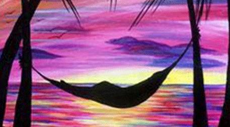 Masterpiece Galata Resim - Hamak Keyfi Etkinlik Afişi