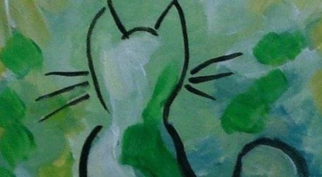 Masterpiece Galata Resim - Kedi Etkinlik Afişi