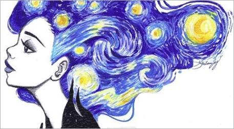 Masterpiece Galata Resim - Yıldızlı Gece Etkinlik Afişi